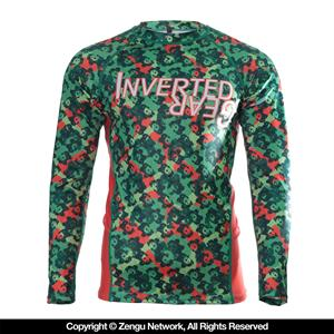 Inverted Gear Camo Panda Rashguard